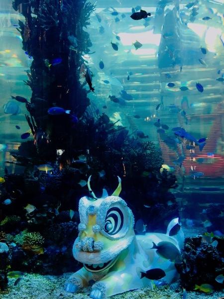 MGM Macau Hotel and Casino aquarium