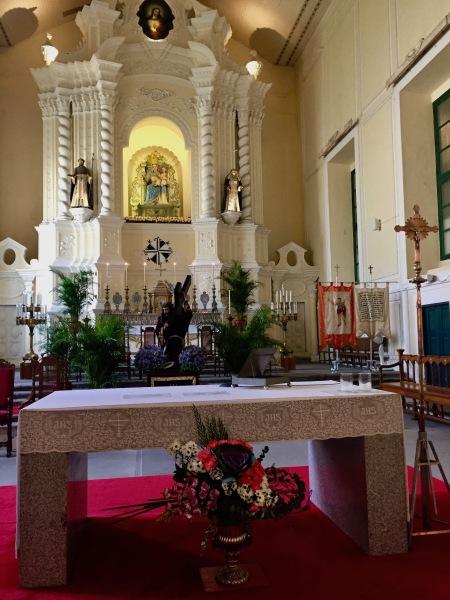 Main altar St. Dominic's Church Macau