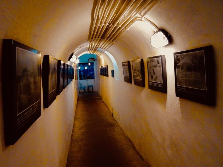 Military tunnels Guia Hill Fortress Macau