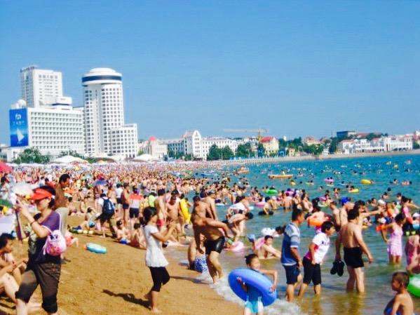 Number 1 Bathing Beach Qingdao Shandong Province China