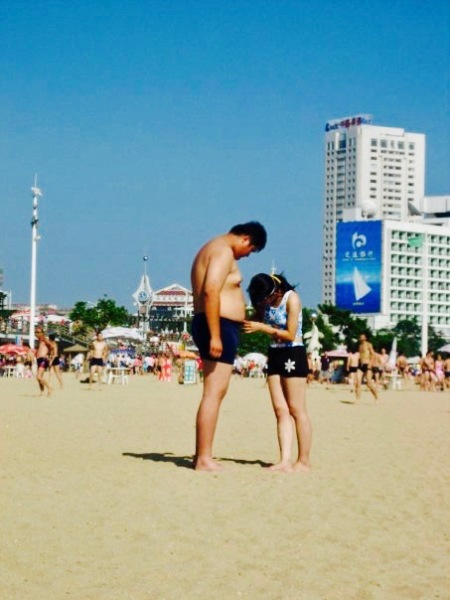 Number 1 Bathing Beach Qingdao Shandong Province China