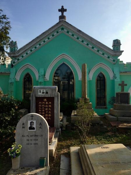 St. Michael's Chapel and Cemetery Macau
