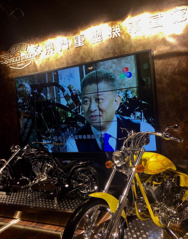 Street Steel Heavy Metal Bike Gallery, Macau