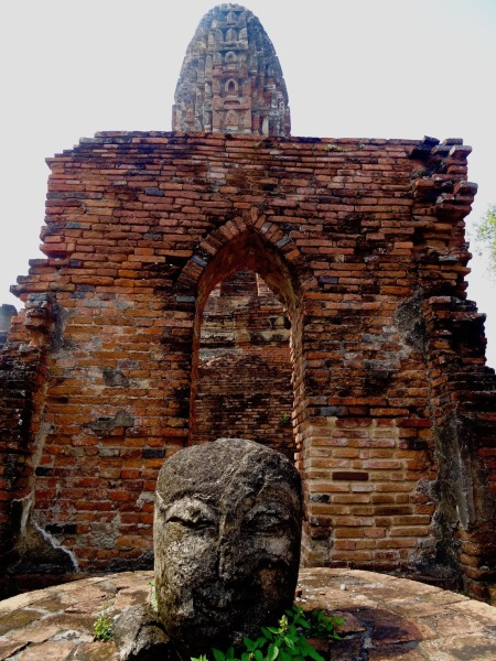 Wat Phra Ram Ayutthaya Historical Park Thailand