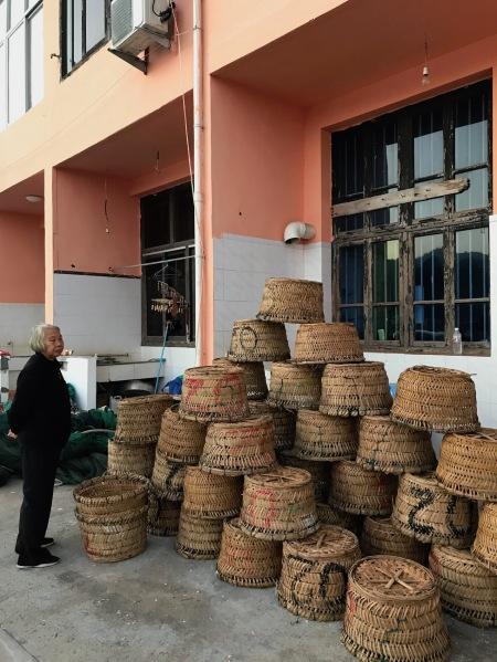 Basket weaving Wucheng Village Cangnan County China
