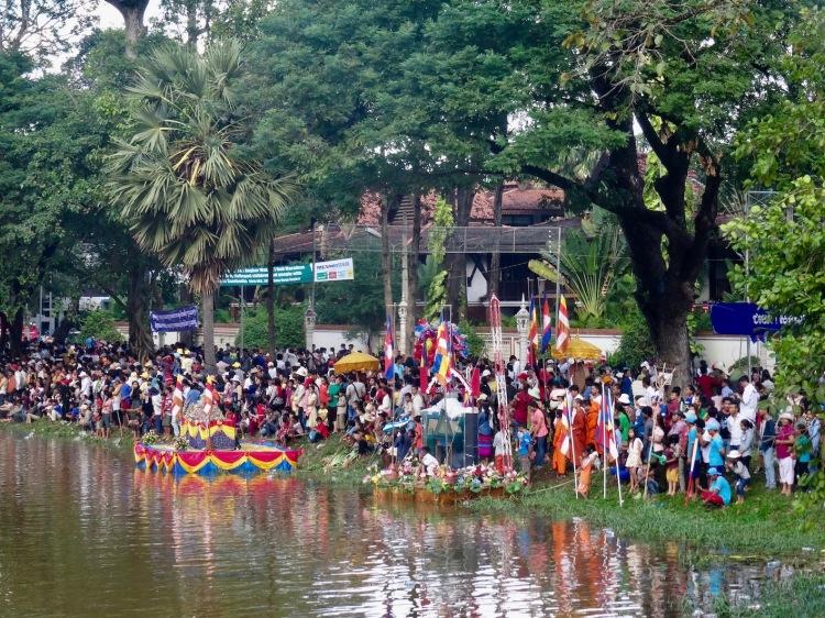 Bon Om Touk Water Festival Siem Reap Cambodia November 2015