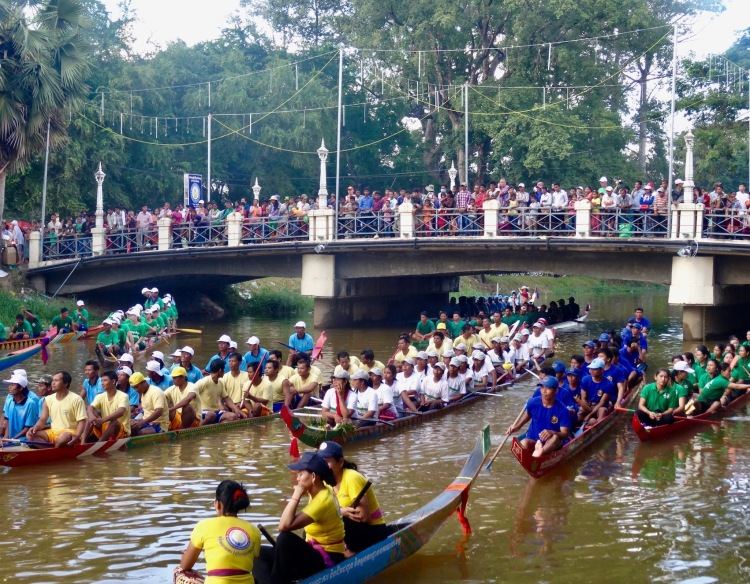 Bon Om Touk Water Festival Siem Reap Cambodia