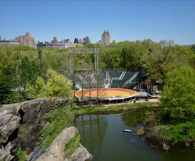 Delacorte Theater Central Park New York City