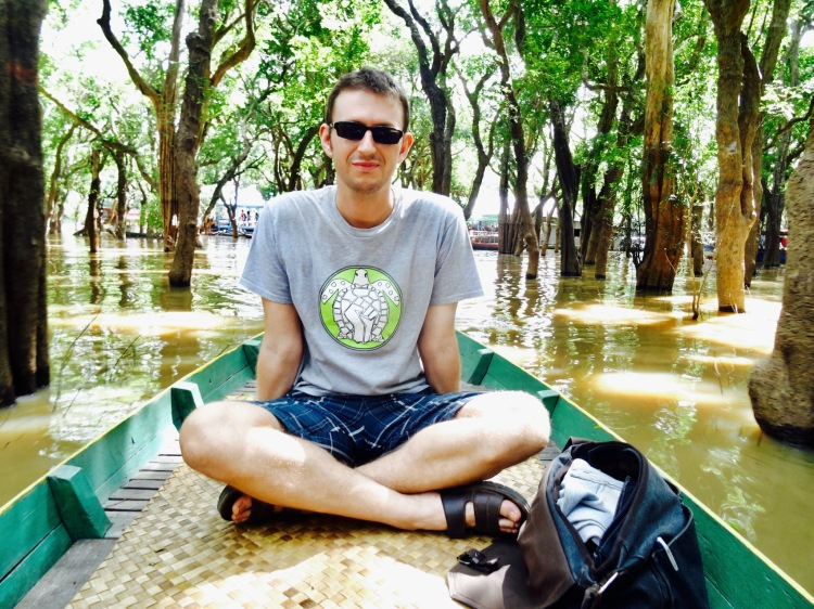 Floating mangrove forest Tonle Sap Cambodia