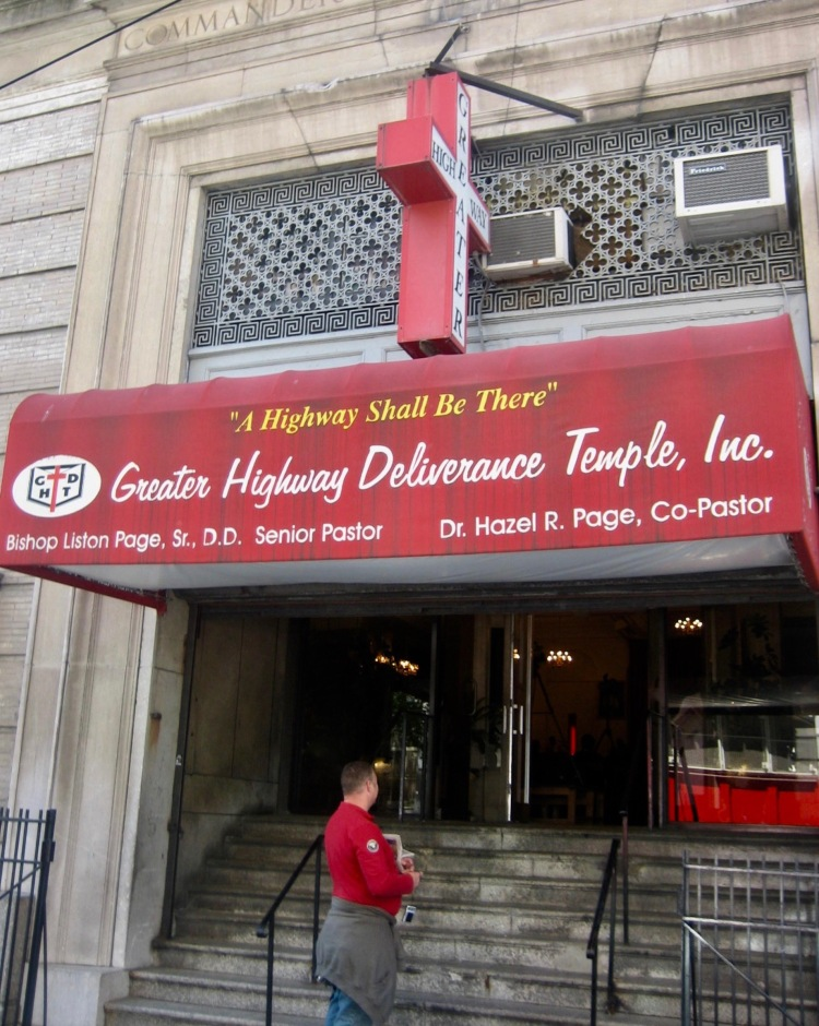 Greater Highway Deliverance Temple Harlem New York City