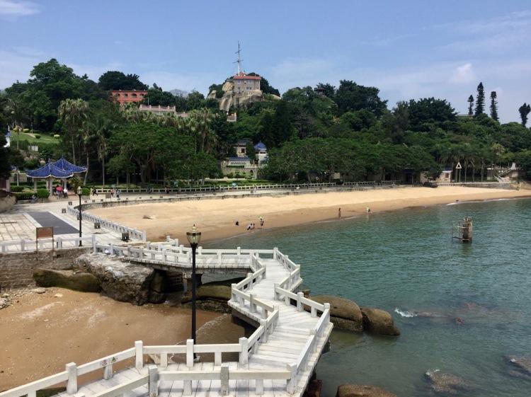 Haoyue Beach Gulangyu Island Xiamen Fujian province China