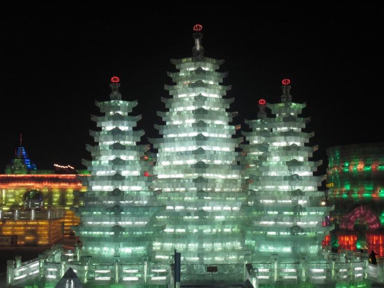 Harbin Ice and Snow Sculpture Festival Harbin Heilongjiang province China