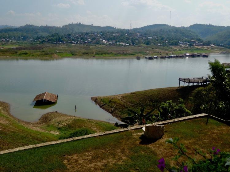 Khao Laem Reservoir Sangkhlaburi Thailand