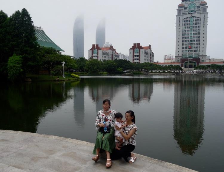 Lotus Lake Xiamen University Fujian province China