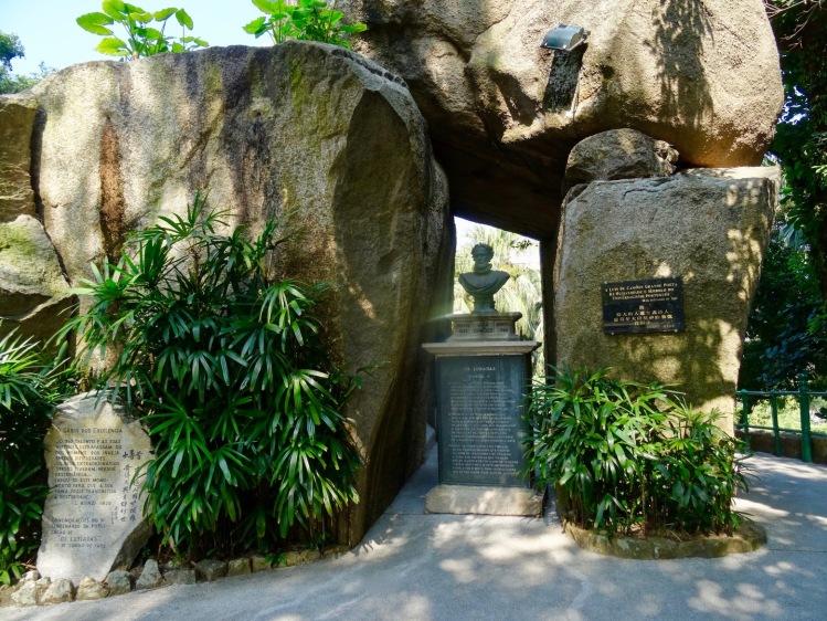 Luis de Camoes grotto Camoes Garden Macau