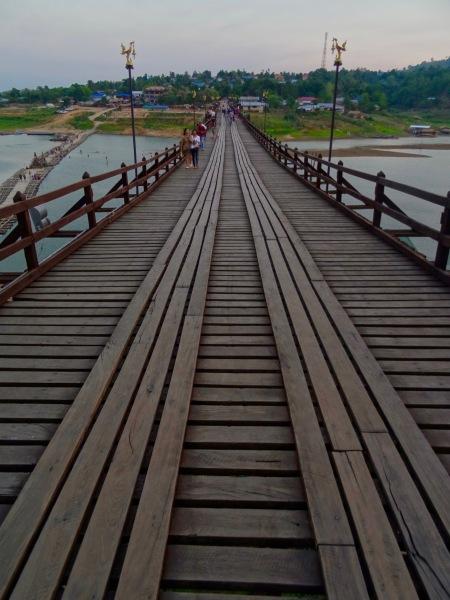Mon Bridge Sangkhlaburi Thailand