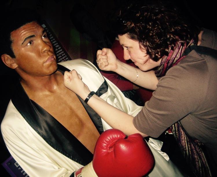 Muhammed Ali Madame Tussauds New York City