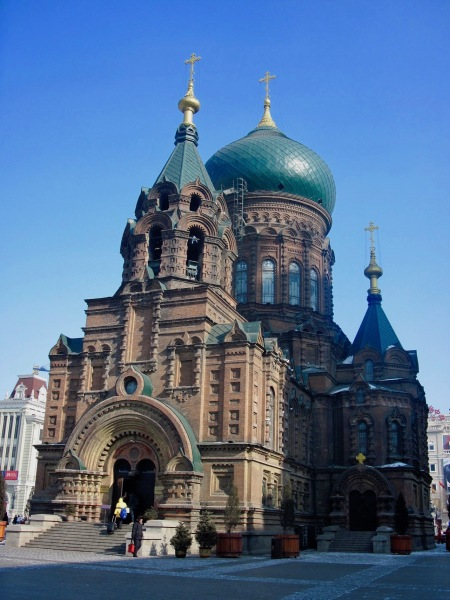 Saint Sophia Church Harbin Heilongjiang province China