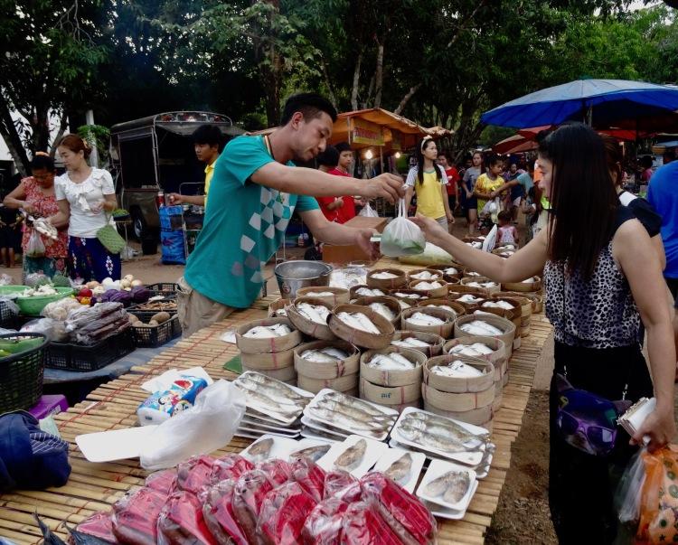 Sangkhlaburi Town Market Thailand