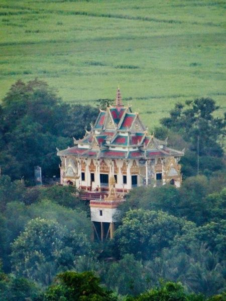 Stilted temple Phnom Sampeau Battambang