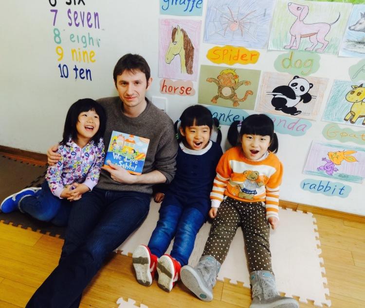 Teaching English to kids Shangdi Beijing
