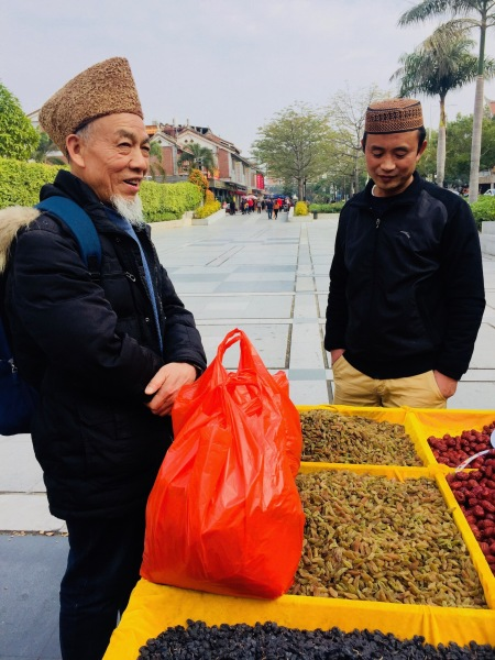 Tumen Street outside Qingjing Mosque Quanzhou Fujian Province China