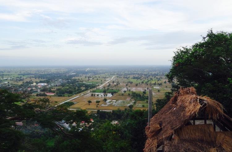 Views over Battambang Province from Phnom Sampeau Cambodia