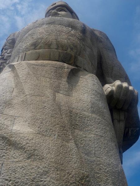 Zheng Chenggong statue Gulangyu Island Xiamen Fujian province China