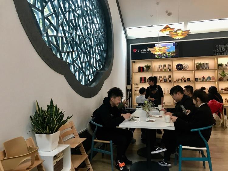 Suzhou Museum Cafe Jiangsu Province China