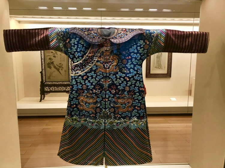 Traditional costume Suzhou Museum Jiangsu Province China