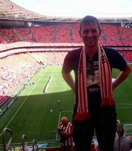 Athletic Bilbao versus Barcelona San Mames Stadium August 23rd 2015