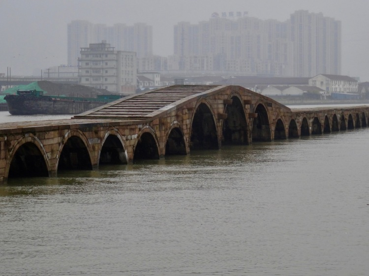 Baodai Bridge Precious Belt Bridge Suzhou China