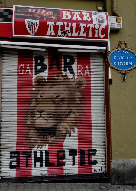 Bar Athletic Bilbao Spain