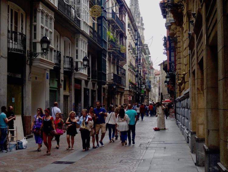 Bidebarrieta Street Bilbao Spain