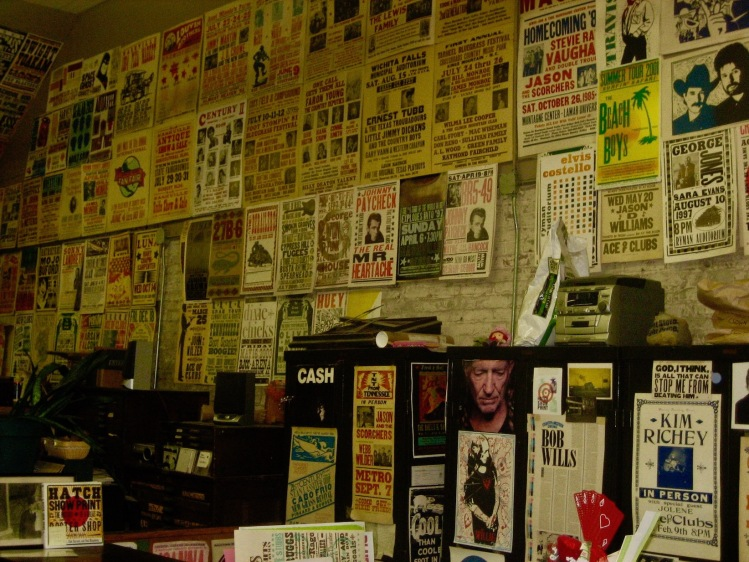 Concert posters Hatch Show Print Nashville Tennessee