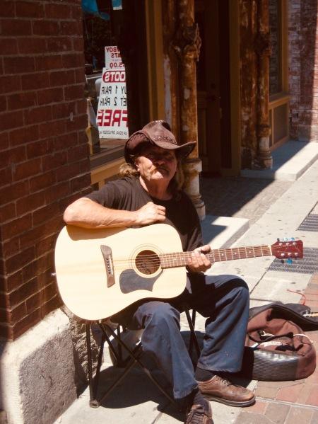 Cowboy busker Nashville Tennessee