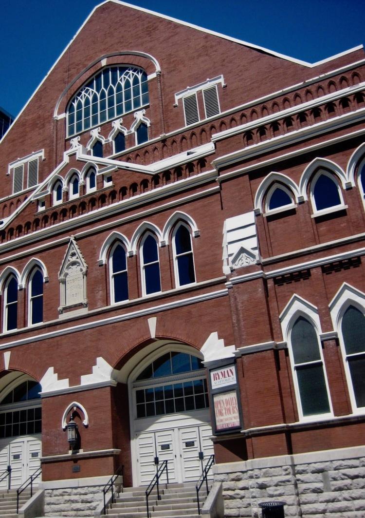 Exterior Ryman Auditorium Nashville Tennessee