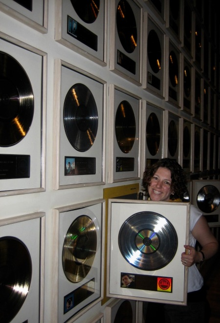Gold and Platinum Record Room Country Music Hall Of Fame Nashville Tennessee