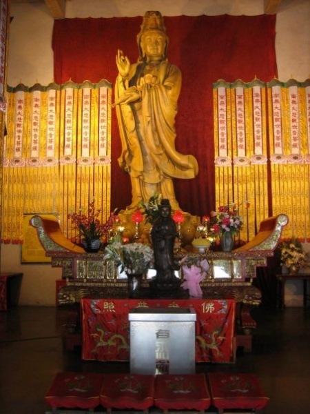 Guanyin Statue Jing'an Temple Shanghai China