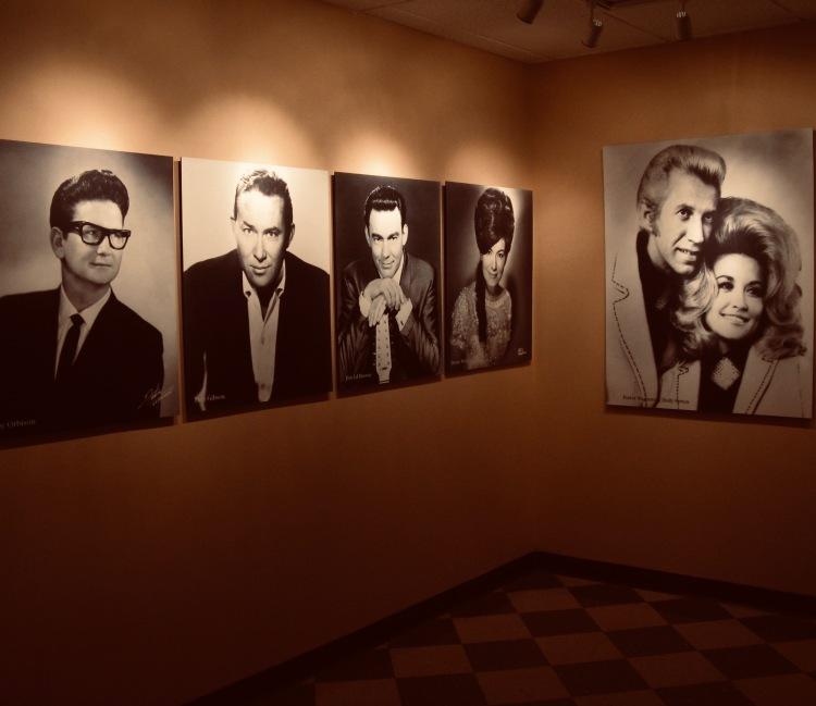 Inside RCA Studio B Nashville Tennessee.