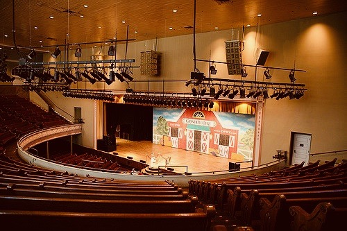 Interior Ryan Auditorium Nashville Tennessee
