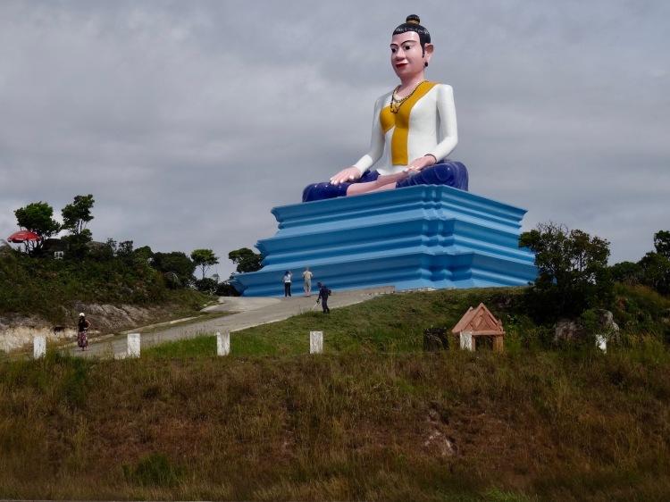Lok Yeay Mao Buddha Bokor National Park Kampot Cambodia