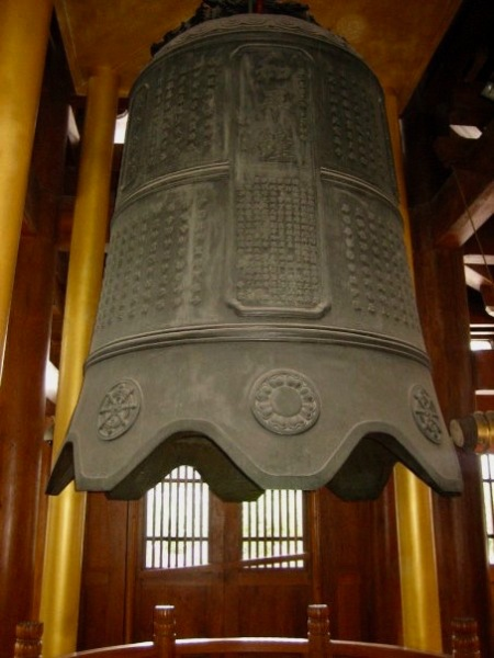 Ming Dynasty copper bell Jing'an Temple Shanghai