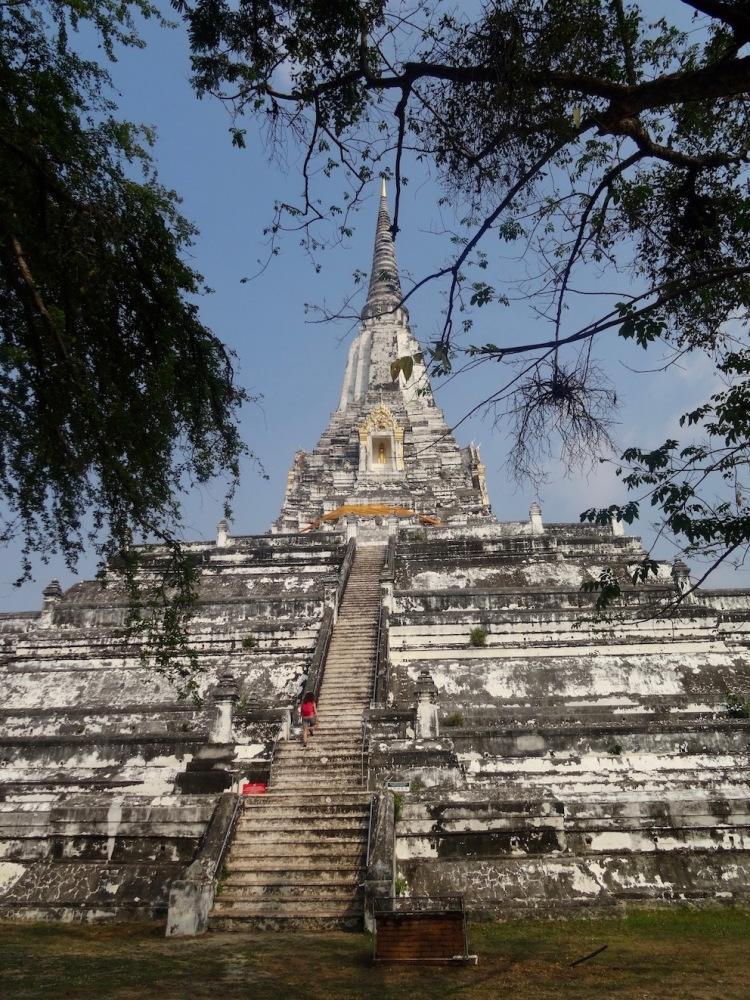 Phu Khao Tong Chedi Ayuthaya Historical Park Thailand