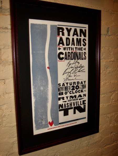 Ryan Adams Ryman Auditorium Nashville Tennessee