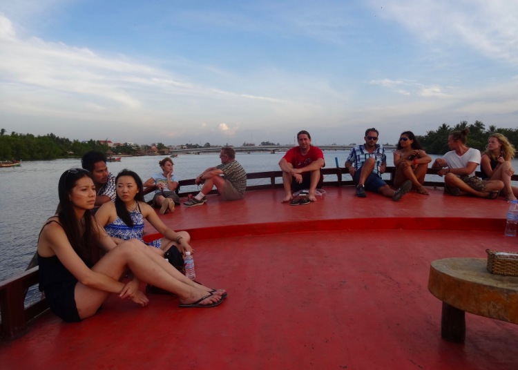Sunset cruise The Kampot River Cambodia