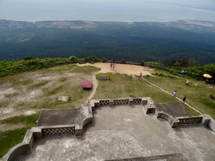 Views over Bokor National Park from Bokor Hill Station Kampot Cambodia