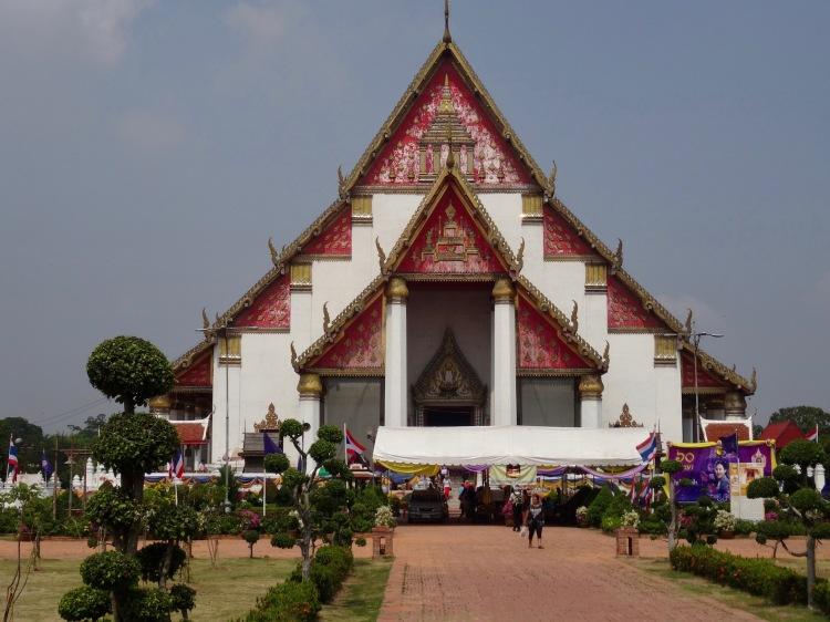 Wihaan Phra Mongkhon Bophit Temple Ayuthaya Historical Park