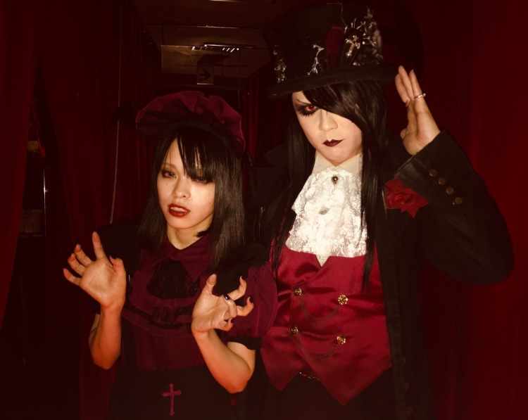 Meet your hosts at The Vampire Cafe Tokyo