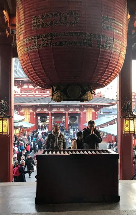 Sensoji Temple Tokyo.